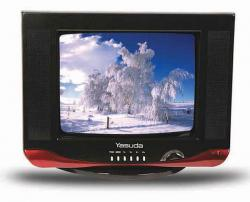 Yasuda color TV (YS-14A6)- With Swivel Base