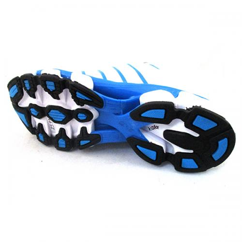 Comfortable White & Blue Sports shoes for Men - (SS-013)