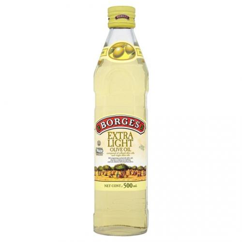 Borges Olive Oil Extra Light (Glass) - 500ml
