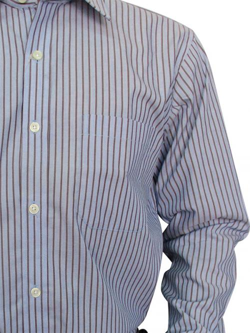 50s Compact Cotton Slim Fit Shirts For Men - (A0058)