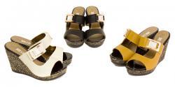 Zaira Ladies Wedge Heel Sandal - (SAH-011)
