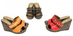 Zarah Ladies Wedge Heel Sandal - (SAH-010