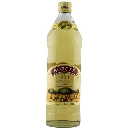 Borges Olive Oil Extra Light (Glass) - 1000ml