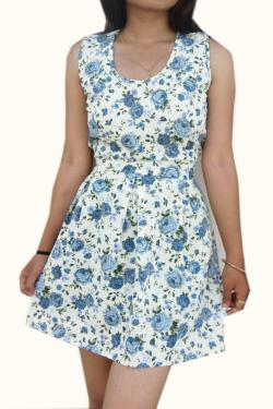 Floral Casual One Piece