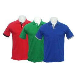 Men's Style Polo Half Sleeve Combo Pack Of 3 T-Shirt