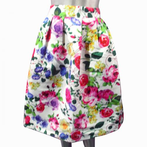 ladies' Floral Skirt - (NP-WS-031)
