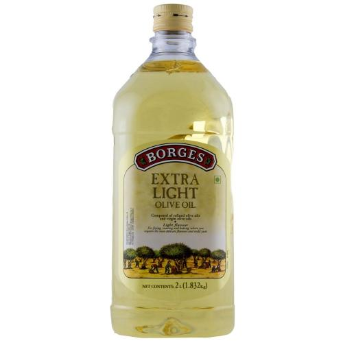 Borges Olive Oil Extra Light (Pet Bottle) - 2000ml
