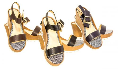 Orlinda Ladies Stylish Wedge Heel Sandal - (SAH-001)