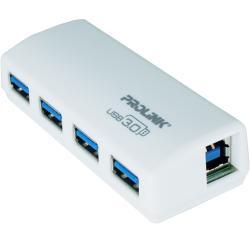 Prolink PUH301 USB 3.0 4-Port Super-Speed Mini Hub 5Gbps