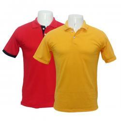 Men's Polo Cotton Casual T-shirt Set Of 2 - (BASTRA-006)