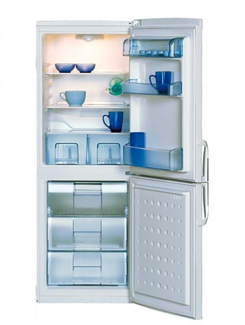 Beko 232L Silver Double Door Refrigerator - (CSA 24022 S)