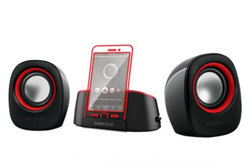 SonicGear MiniDock 1 Portable Bluetooth 2.0 Speaker