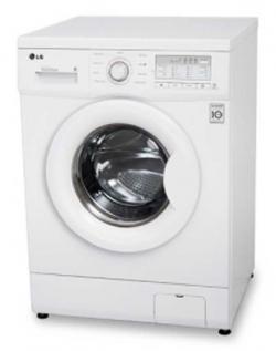 LG Washing Machine (WD-1270QDT (White) ) - 6.5 Kg (Front Loading)