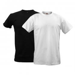 Round Neck Plain Combo T-shirt Pack 2 - (BASTRA-011)