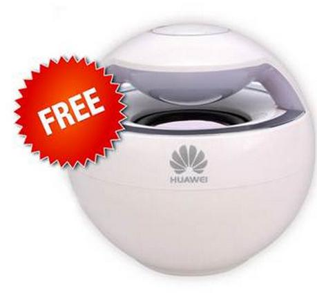 Huawei Ascend P8 (Special Offer Huawei Bluetooth Speaker Free)