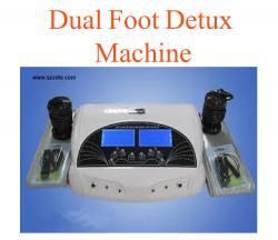 Dual foot detux machine