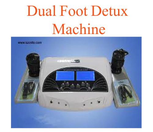Dual foot detux machine