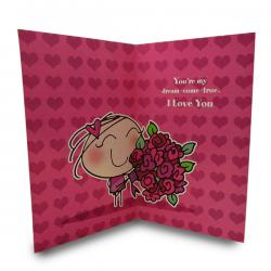 A Heart Full Of Love Sweatheart Card - (ARCH-468)