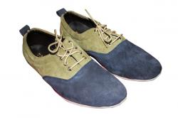 Sky and Brown Party Shoe (TK-PRT-007)