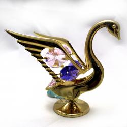 Archies 24K Gold Plated Swan Show Piece (ARCH-355)