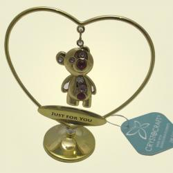 Archies 24K Gold Plated Teddy Just For You Show Piece (ARCH0022)
