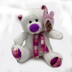 Archies Online white Teddy Bear - (ARCH-272)