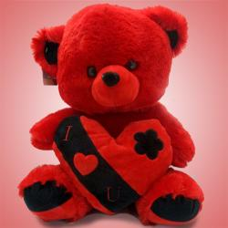 Archies Valentine Love Heart Teddy Bear - (ARCH-261)