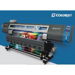 Aurajet Large Format Digital Ecosolvent Inkjet Printer - (HO-008)