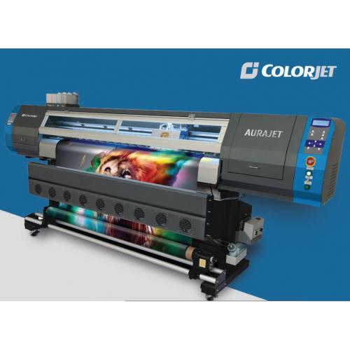 Aurajet Large Format Digital Ecosolvent Inkjet Printer - (HO-008)