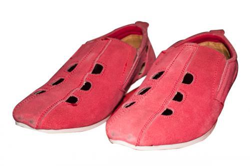 Stylish Red With Hole Shoe (TK-PRT-006)