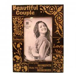 Beautiful Couple Photo Frame - (ARCH-448)
