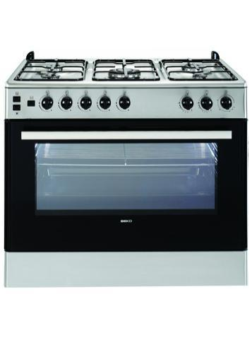 Beko Free Standing Oven (GG 15112 GX) - 4 Gas