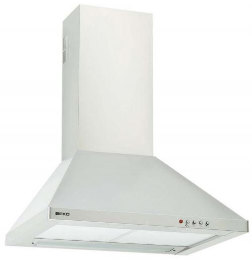Beko Kitchen Hoods and Chimneys (CWB-6441-X) 60cm Stainless Steel - curve type