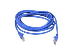 Belkin Cable Cat 5E UTP RJ45M/M 3 Blu Patch Snagless