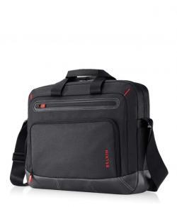 "Belkin Case TPLD PU-LTHR Poly Laptop 16"" Swift Black/Red (F8N509qeC00)"