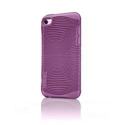 Belkin iPod 4G Touch TPU Grip Ergo Sleeve Case Purple (F8Z654QEC01)