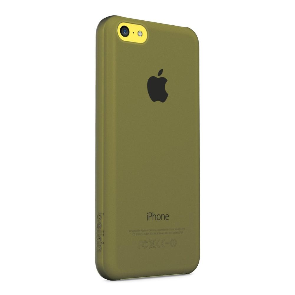 Belkin Micra Shield Matte Case for iPhone 5C, Stone (F8W395qeC00)