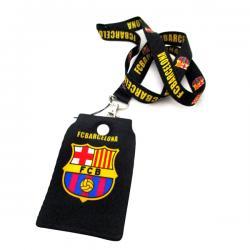 Black FC Barcelona Strap - (TP-064)