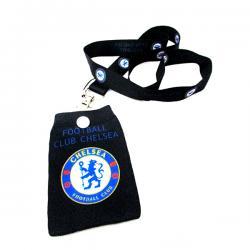 Black Football Club Chelsea Strap - (TP-062)