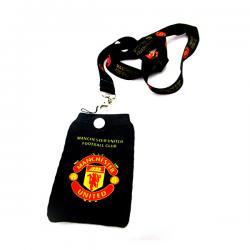 Black Football Club Manchester United Strap - (TP-063)