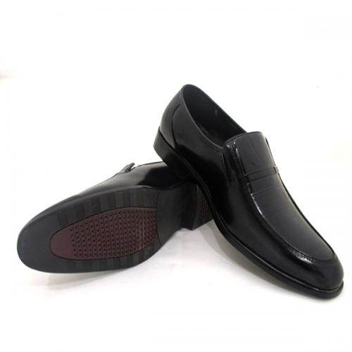 Black Formal Leather Shoe For Men - (SB-0002)