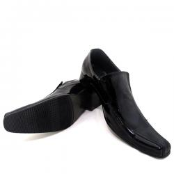 Black Stylish Formal Cowboy Shoes For Men - (SB-0007)