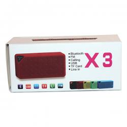 Bluetooth Portable Speaker (X-3)