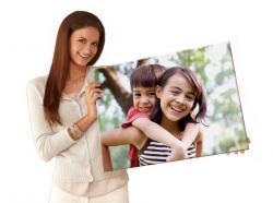 "Canvas Photo Print 48""X60"" Size - (HO-018)"
