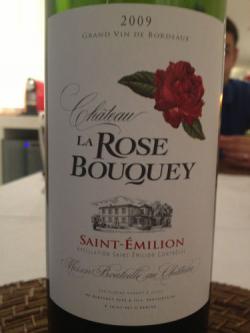 Chateau La Rose Bouquey Saint Emillion 2009 - (GL-032)