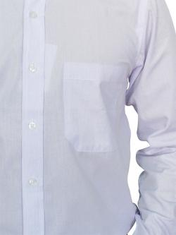 Chief Value Cotton Slim Fit White Shirt With Full Sleeve - (A0367)