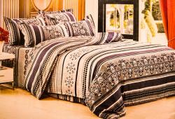 Cotton King Size Designing Bedding (GW-007)