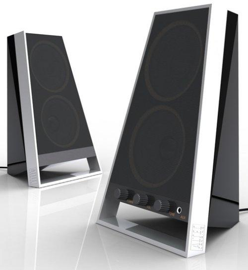 Altec Lansing 2 Piece Mid Level Speaker