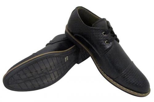 Dark Black Formal Shoes - (SB-0119)