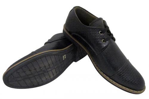 Dark Black Formal Shoes - (SB-0119)